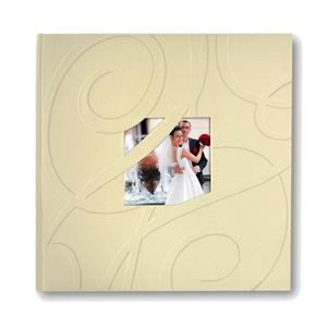 Letter Traditional Wedding Album - 60 Sides