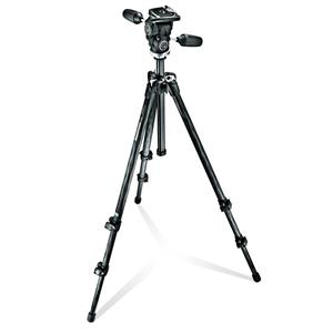 Manfrotto MK294C3-D3RC2 Carbon Fibre 3 Section Tripod With 3 Way Head Kit