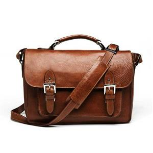 ONA Brooklyn Chestnut Leather Shoulder Bag
