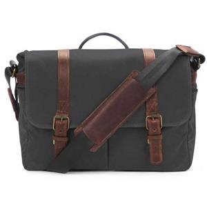 ONA Brixton Black Messenger Bag