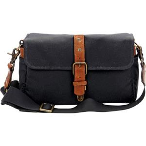 ONA Bowery Black Small Shoulder Bag