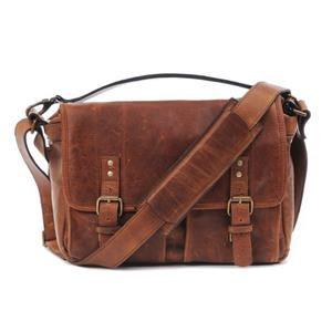 ONA Prince Street Antique Cognac Leather Messenger Bag
