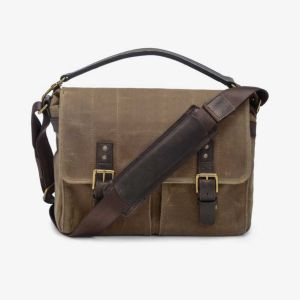 ONA Prince Street Tan Messenger Bag