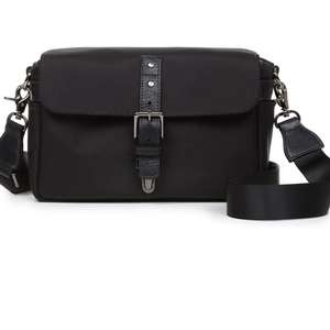 ONA Bowery Black Small Nylon Shoulder Bag
