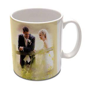 Personalised White Photo Mug 10oz - Add your Photo or Text