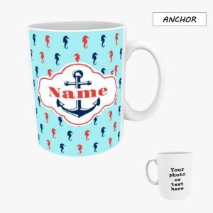 Personalised Photo Mug 10oz - Anchor
