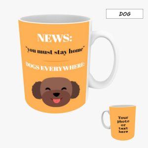 Personalised Photo Mug 10oz - Dog
