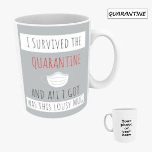 Personalised Photo Mug 10oz - Quarantine