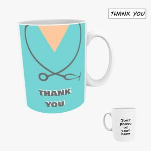 Personalised Photo Mug 10oz - Thank You