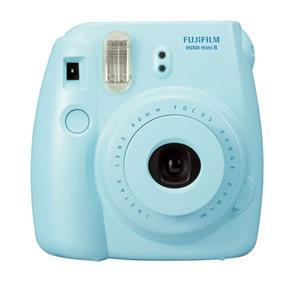 Fujifilm Blue Instax Mini 8 Instant Camera Inc 10 Shots