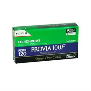 Fujifilm Provia 100F 120 Colour Slide Roll Film Pack of 5
