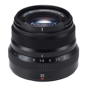 Fujifilm 35mm f2 R WR Fujinon Black Lens