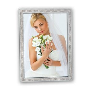 Rubens Silver Diamante 6x4 Photo Frame