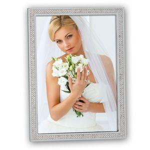 Rubens Silver Diamante 7x5 Photo Frame