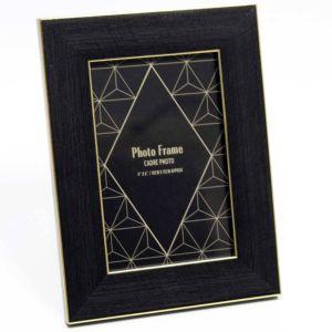 Black & Gold 6x4 Photo Frame
