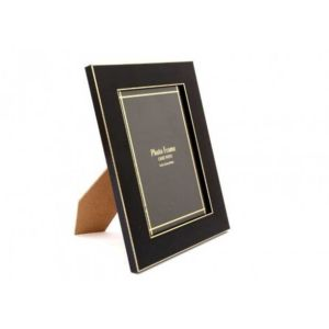 Black & Gold 7x5 Photo Frame