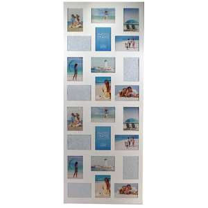 Madeira 24 6x4 Inch Multi Aperture Photo Frame Overall Size 48x19 Inches