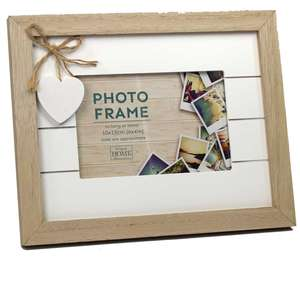 Amore Photo Frame for a 6x4 Inch Photo Overall Size Approx 10x8 Inches