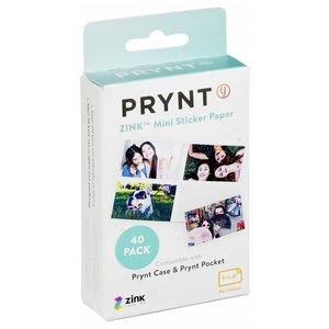 Prynt ZINK Mini Sticker Paper for iPhone Printer Prynt Case and Prynt Pocket 1x1.4