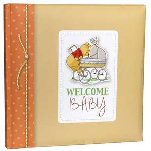 Winnie the Pooh Baby Traditional Photo Album 10.25 Inch Square