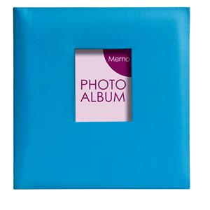 Festival Blue 6x4 Slip In Photo Album - 200 Photos