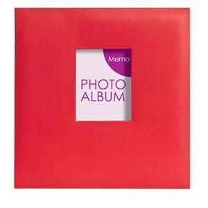 Festival Red 6x4 Slip In Photo Album - 200 Photos