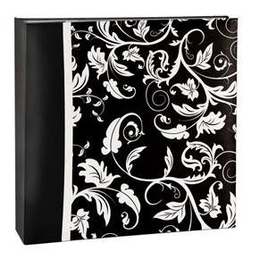 Aurora Black Slip In 6x4 Photo Album - 200 Photos