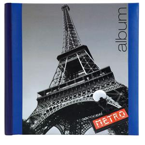 Iconic City Paris Slip In Photo Album | 6x4 Inch Photos | 200 Photos | Memo