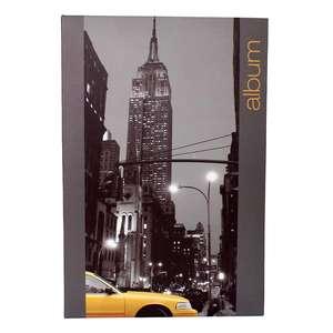 Iconic City New York 6x4 Slip In Grey Photo Album 300 Photos