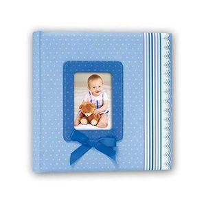 Blue Ribbon Traditional Photo Album - 60 Sides