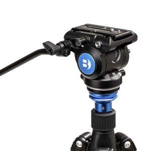 Benro S4PRO Video Fluid Tripod Head | Max Load 4KG