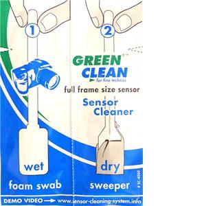 Green Clean Full 35mm-Size Sensor Wet & Dry Swabs 25 pcs