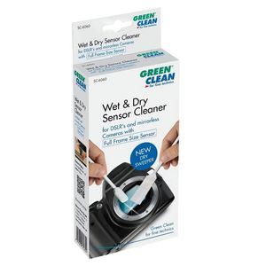 Green Clean Full Frame Sensor Wet & Dry Swab - 4 Pack