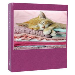 Cuties Pink 6x4 Slip In Photo Album - 300 Photos