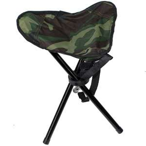 Stealth Gear Collapsible Stool Three Legs 14.5 Inches Tall