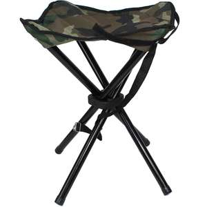 Stealth Gear Collapsible Stool Four Legs 16 Inches Tall