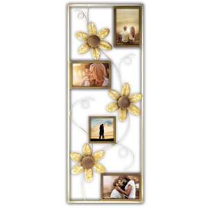 Capri Metal Photo Frame Mixed Photos Overall Size 30x12 Inches