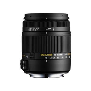 Sigma 18-250mm f/3.5-6.3 DC Macro OS HSM Lens - Canon Fit