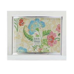 Sixtrees Flat Bevelled Glass Silver 6x4 Photo Frame Horizontal