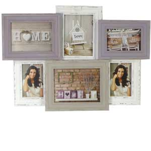 Multi Photo Frame for 6 Photographs