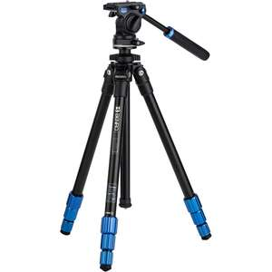 Benro Slim Video Aluminium Tripod with S2C Pan and Tilt Head