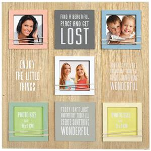 Digne Multi Aperture Photo Frame For 5 Photos