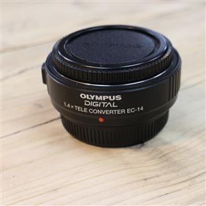 Used Olympus EC-14 Tele Converter 1.4x Four Thirds Lens