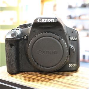 Used Canon EOS 500D D-SLR Camera Body