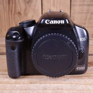 Used Canon EOS 450D DSLR Camera Body