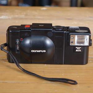Used Olympus XA 35mm Rangefinder Camera with A11 Flash