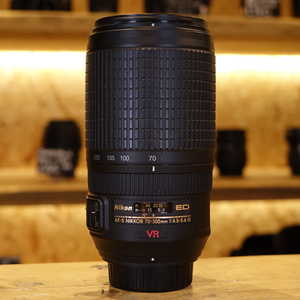 Used Nikon AF-S 70-300mm F4.5-5.6 G VR Lens