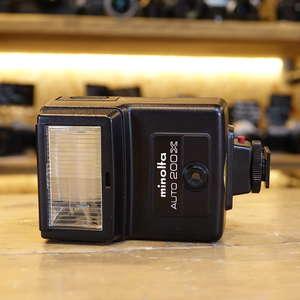Used Minolta Auto 200X Flashgun for MD cameras