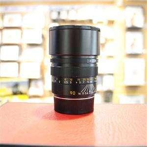 Used Leica M 90mm F2 Summicron Lens
