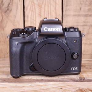 Used Canon EOS M5 Black Camera Body